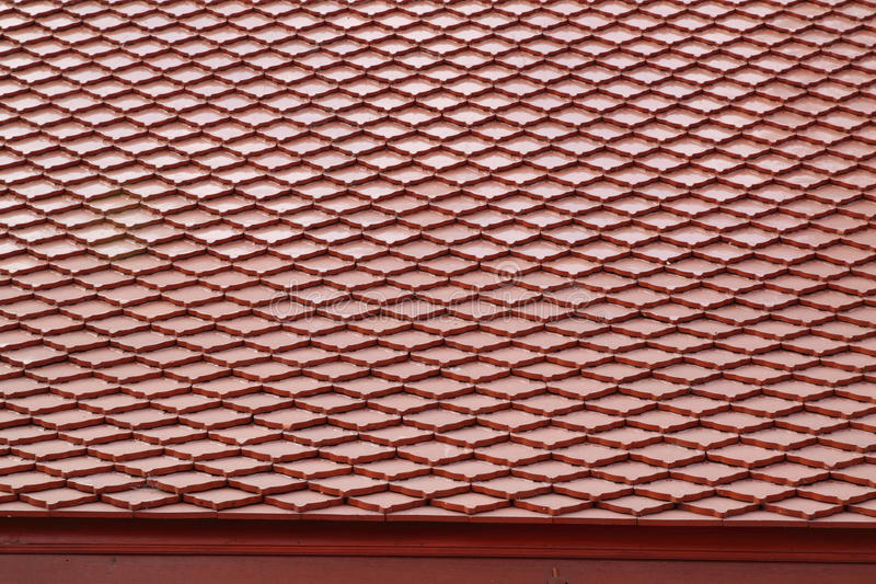 Roof tile texture royalty free stock images