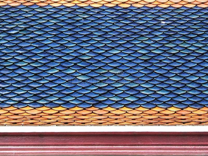 Roof Tiles Close-up Free Stock Images