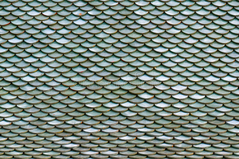 Roof Tiles On The Roof Of An Old House As Background