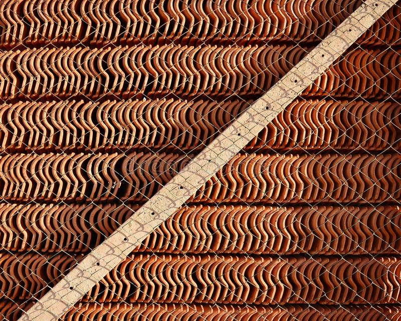 Roof Tiles Stock royalty free stock photo