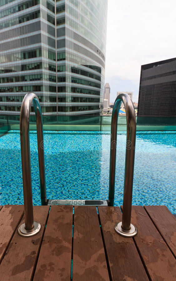 Download Roof top pool stock photo. Image of modern, marble, cityscape - 28709002