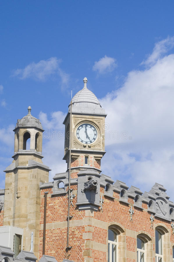 Download Roof Of The Train Station In Ghent Stock Image - Image: 11324873