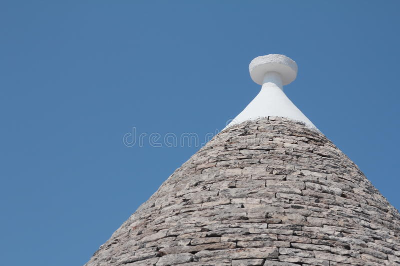 Download Roof Of A Trullo, A Traditional Dry Stone Hut Stock Image - Image: 27185441