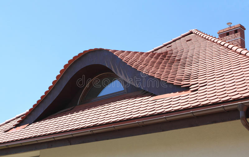 Download Roof window stock photo. Image of window, ceramic, modern - 14855192