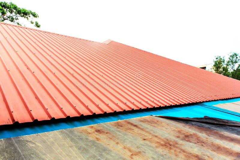 Roof zinc stock photos