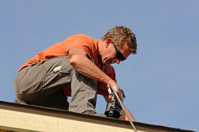 roofing imagen de archivo