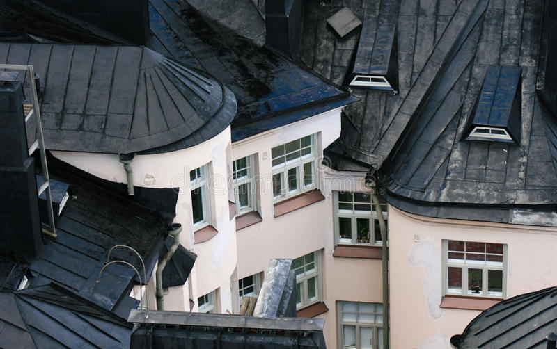 Roofs royalty free stock photography