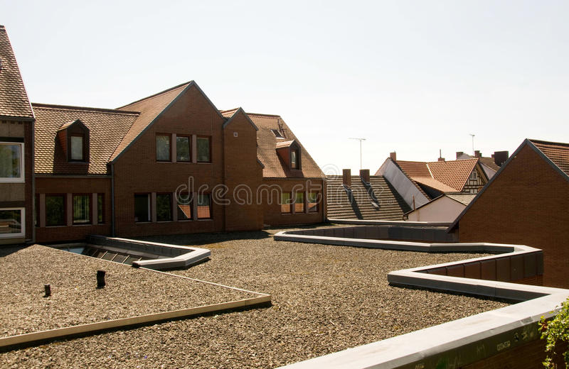 Roofs. stock photo