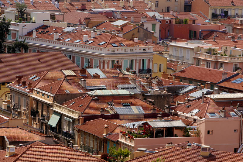 Download Roofs stock photo. Image of windows, bricks, roof, buildings - 23702006