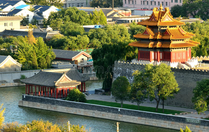Download Roofs Of The Forbidden City Stock Photo - Image: 21840022