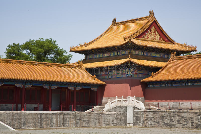 The roofs of the Forbidden City