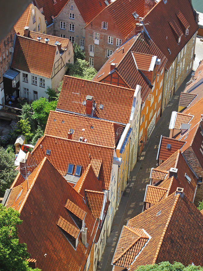 Roofs of Luebeck