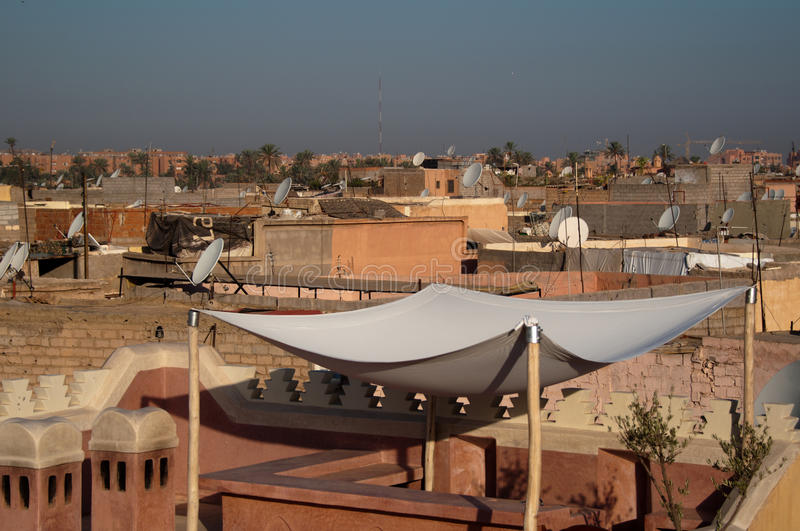 Download Roofs Of Marrakech, Morocco Stock Photo - Image: 21598786