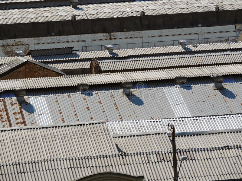 Download Roofs stock photo. Image of factories, tiles, roofs, warehouses - 53126288