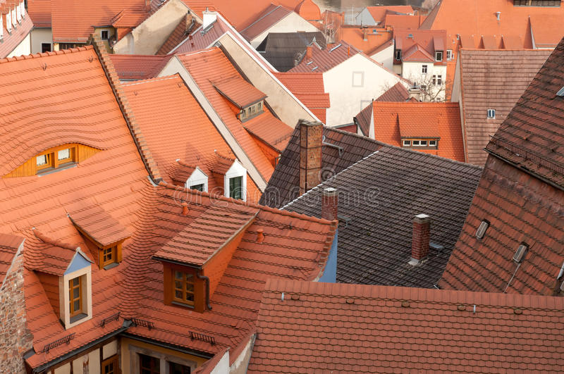 Download Roofs Of The Old Town Meissen, Stock Photo - Image: 18312416