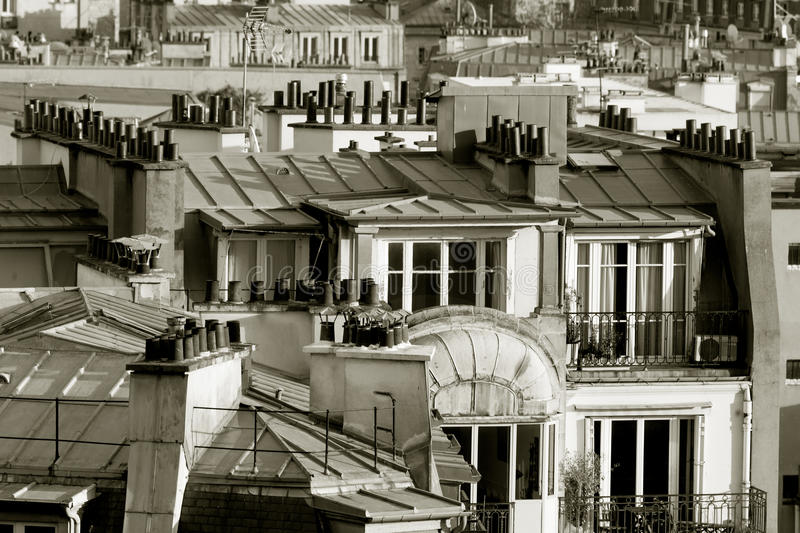 Download Roofs In Paris, France Stock Photo - Image: 28306500