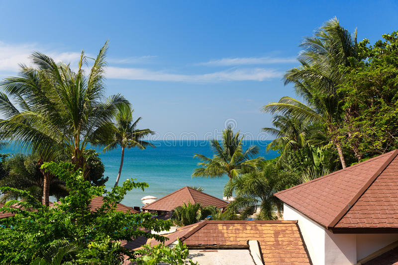Download Roofs in Thailand stock image. Image of modern, outside - 38871205