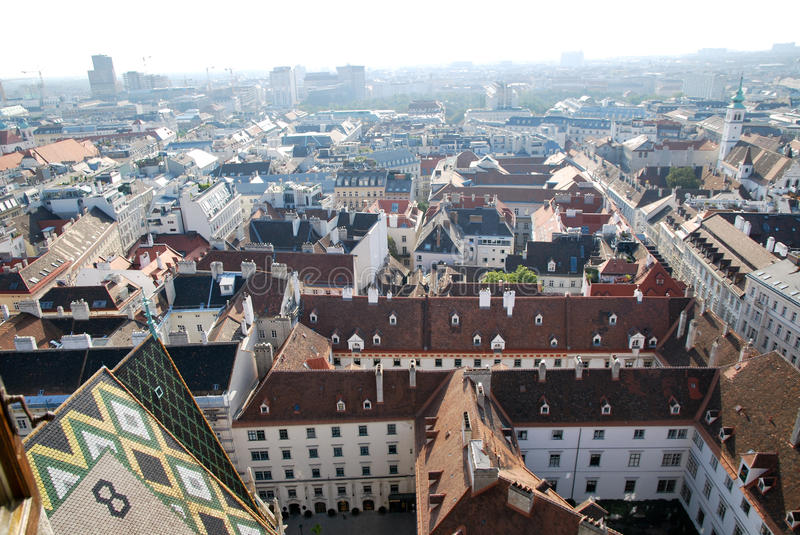 Download Roofs of Vienna stock photo. Image of city, roof, stephen - 21327096
