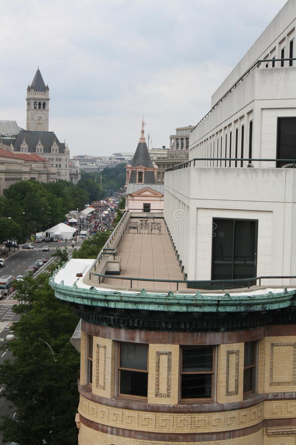 rooftop royaltyfri fotografi