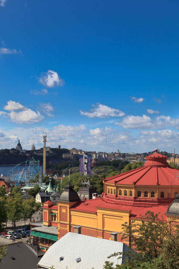 Download Rooftop View Of Stockholm From Skansen Stock Photo - Image of park, above: 26486598