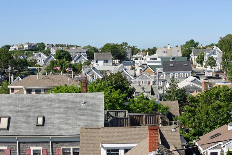 Rooftops 1 royalty free stock photos
