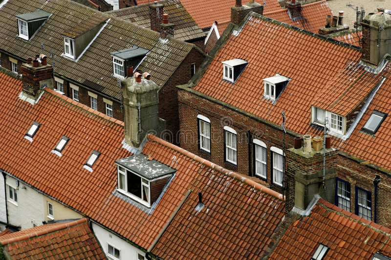 Download Rooftops stock image. Image of building, chimneys, abode - 150097