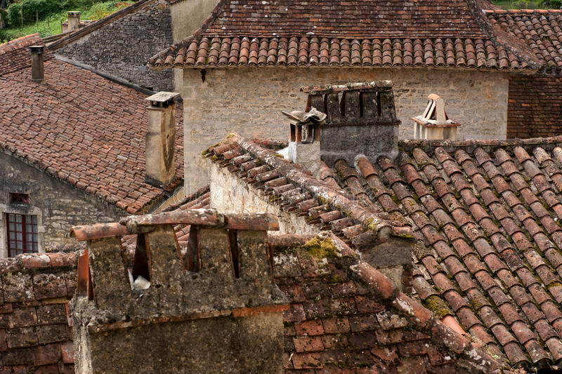 Download Rooftops In Ancient French Village Stock Photo - Image: 33100692