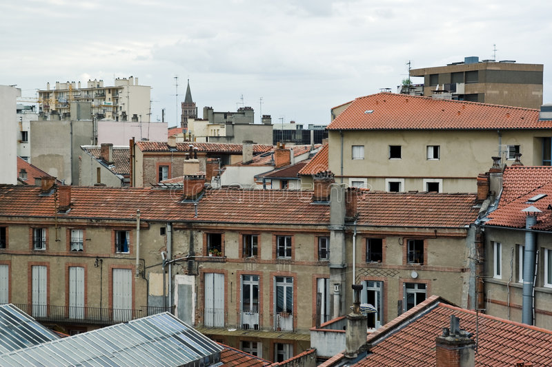 Rooftops In France Stock Image