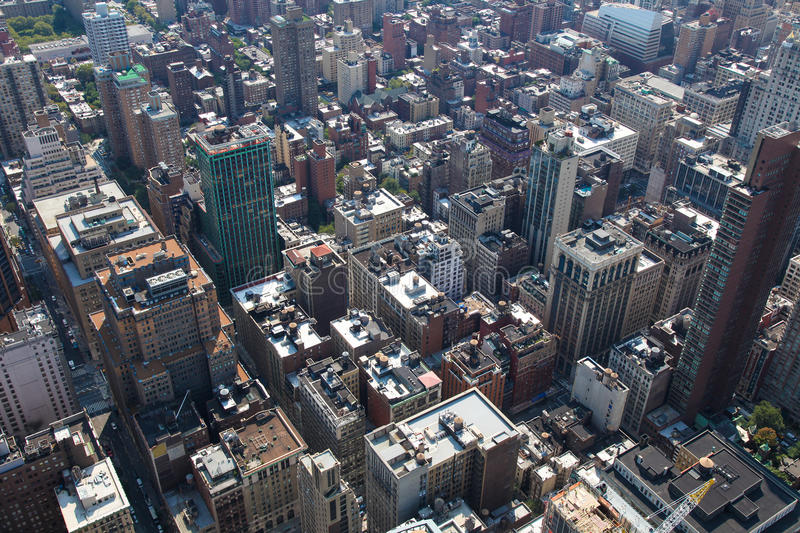 Download Rooftops of Manhattan stock image. Image of metro, roof - 28586167