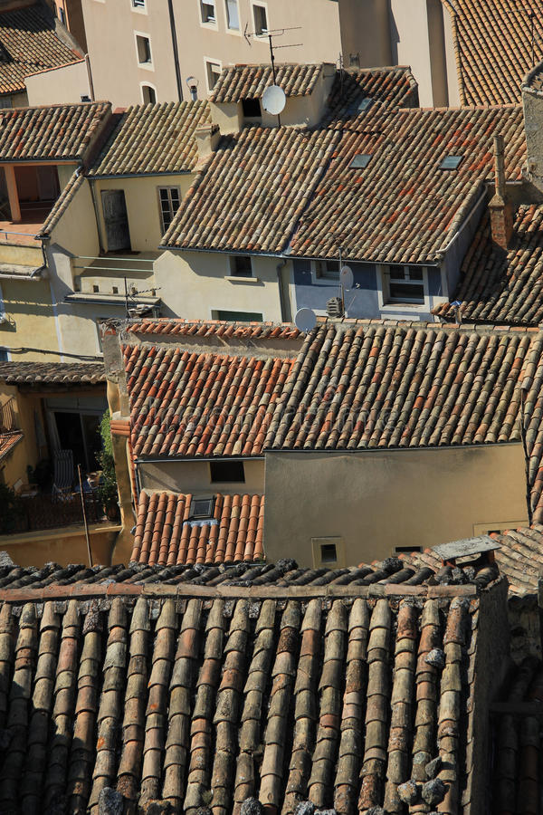 Download Rooftops in the Provence stock image. Image of ceramic - 25264571
