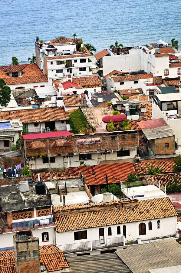Rooftops in Puerto Vallarta, Mexico