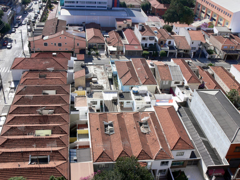 Download Rooftops Of Sao Paulo, Brazil Royalty Free Stock Image - Image: 1299776