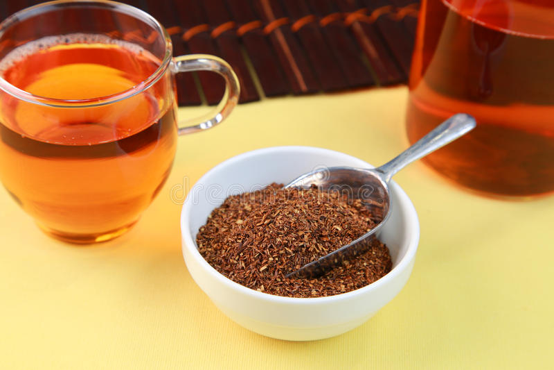 Rooibos herbata fotografia stock