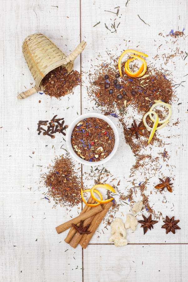 Rooibos tea arkivfoton
