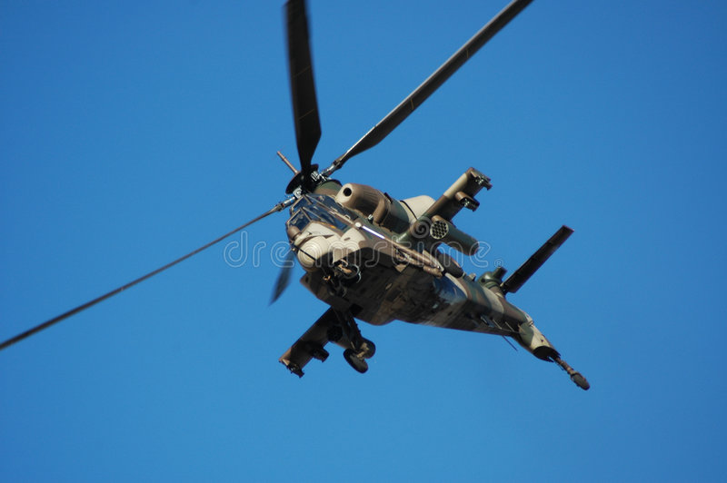 Rooivalk attack helicopter stock photos