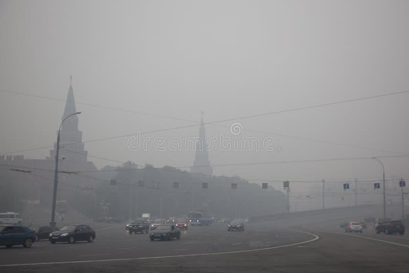 Rook in Moskou royalty-vrije stock foto