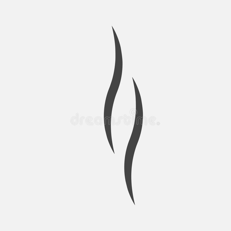 Rook, vectorpictogram stock illustratie