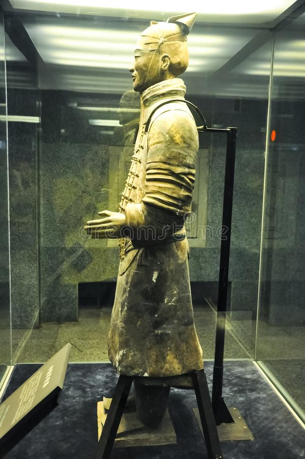 The rookie of the terracotta army. Terracotta Army stock photo