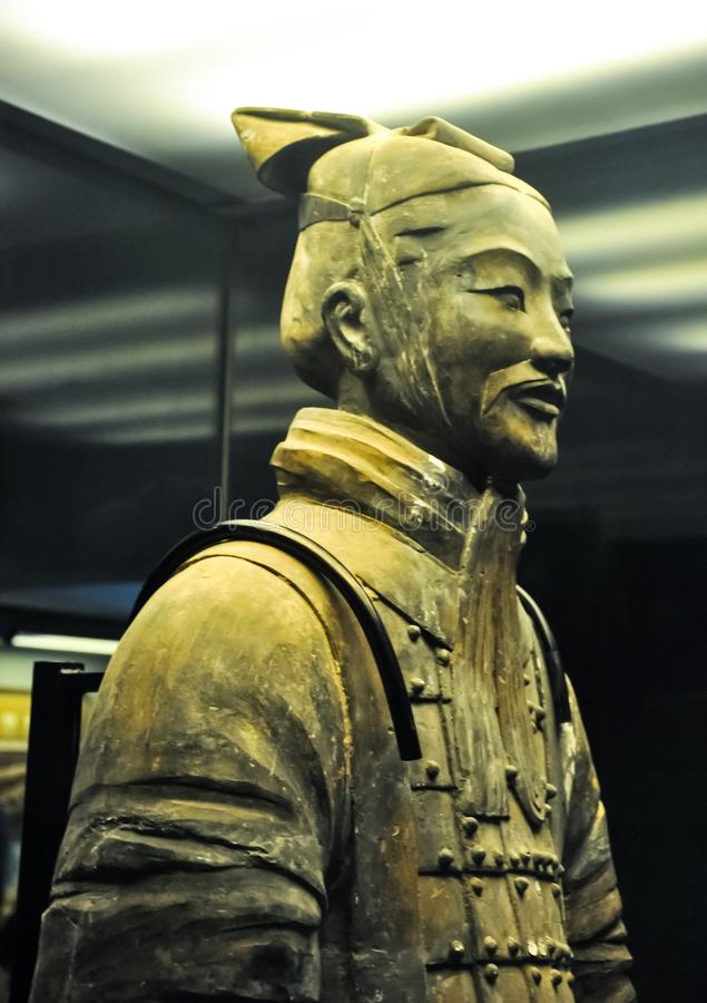 The rookie of the terracotta army. Terracotta Army stock image