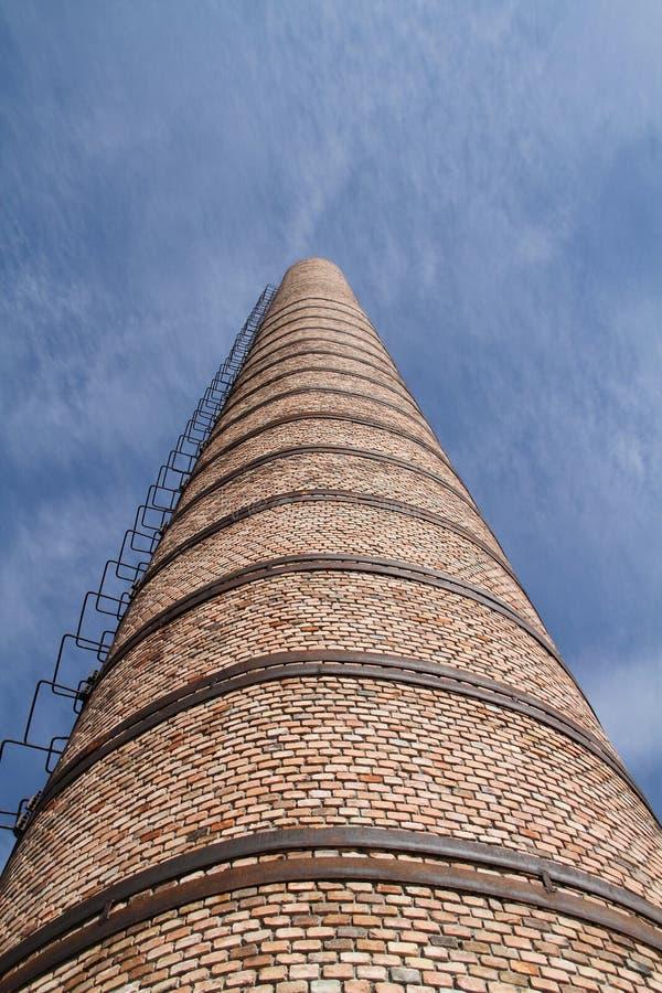 Rookstapel en ladder royalty-vrije stock fotografie