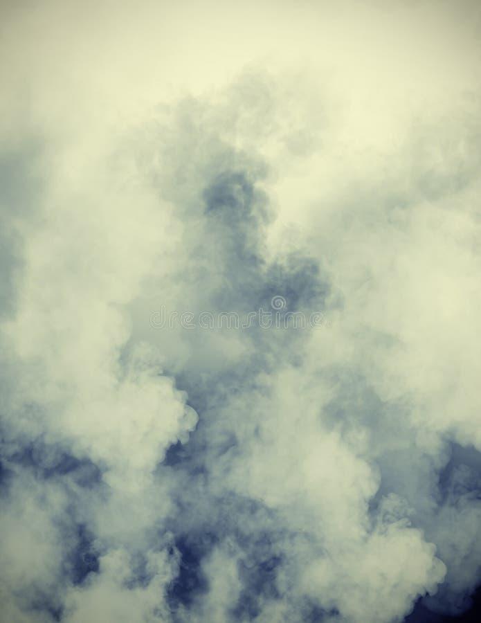 Rookwolken stock illustratie