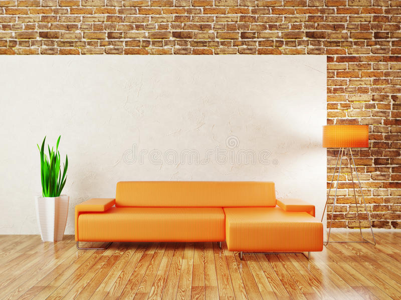 Room stock illustration