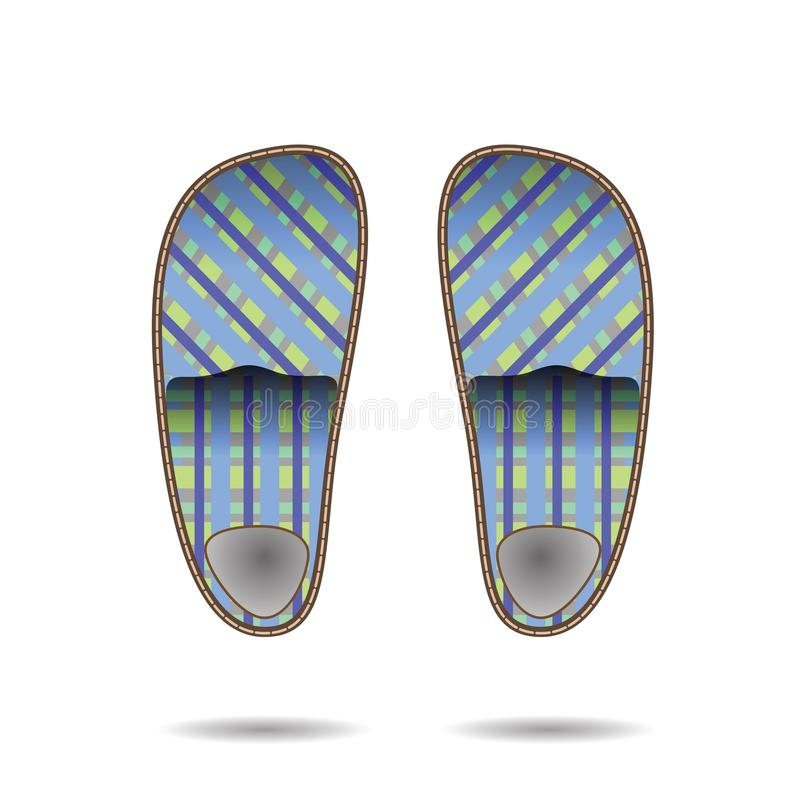 Download Room clippers stock vector. Image of slippers, home, leaving - 30844699