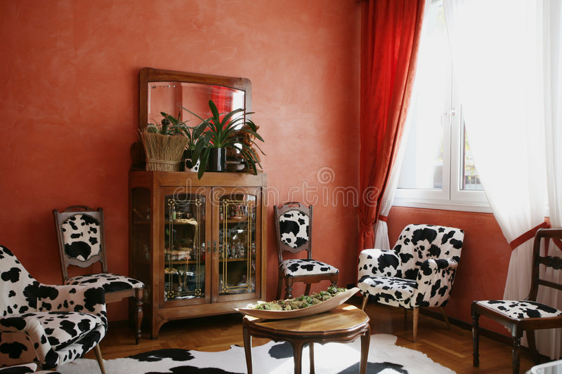 Room decoration stock images