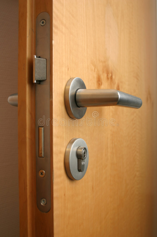 Room door stock photo