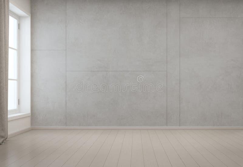 Empty White Studio Room Psd