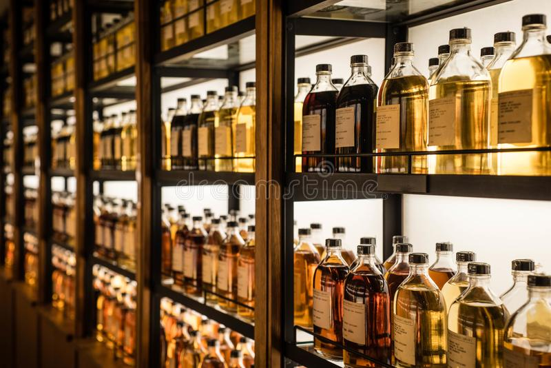 Download Room Full Of Whisky Cabinets Storing Different Types Of Whiskey  Editorial Image   Image Of
