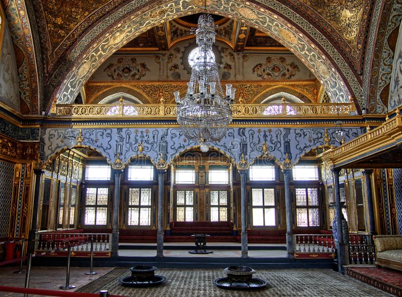 Room of harem palace Topkapi stock images