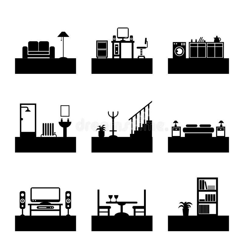 Free Room Icons Stock Photos - 20195433