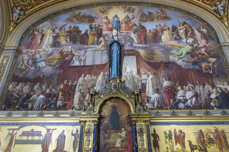Room of the Immaculate Conception royalty free stock photos